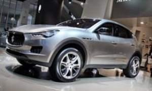 Fiat решил начать производство внедорожника под брендом Maserati