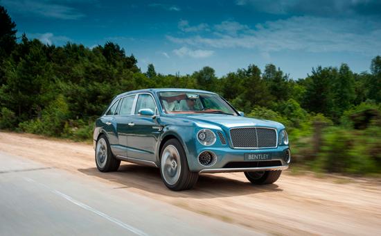 Встречайте Bentley EXP 9 F.