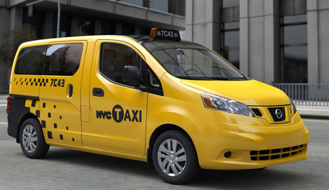 Nissan NV200 появится в Лондоне в качестве такси.