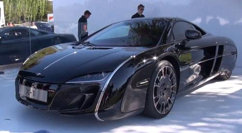 McLaren X-1 на выставке Pebble Beach.