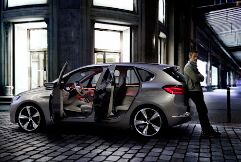 BMW Concept Active Tourer разгоняется до сотни за 8 секунд