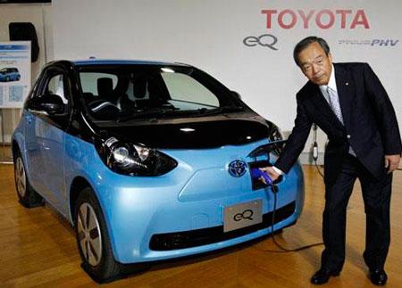 Toyota отложила массовое производство электромобилей.