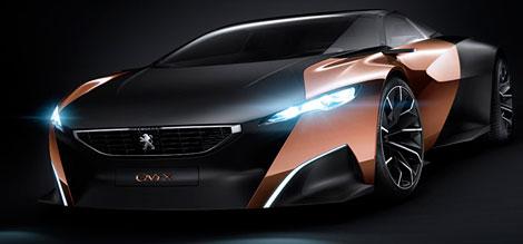Peugeot Onyx – самый стильный суперкар парижского автосалона.