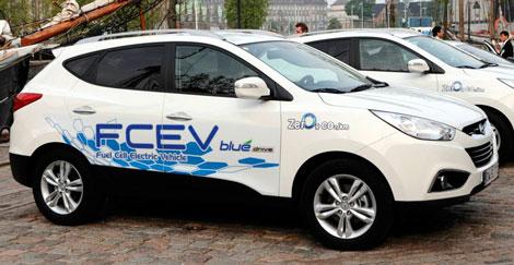 Компания Hyundai запускает в серийное производство водородный кроссовер.