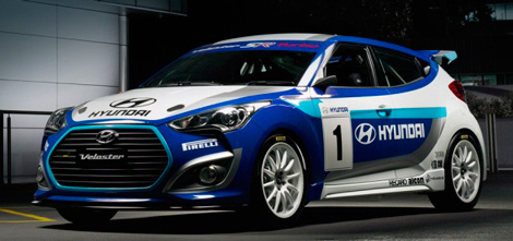 Компания Hyundai превратила Veloster в ралли-кар