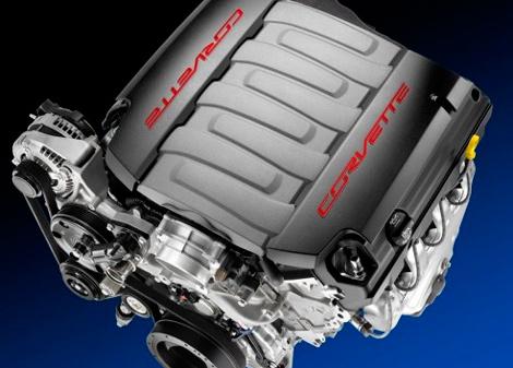 Компания Chevrolet рассекретила двигатель нового Корвета.