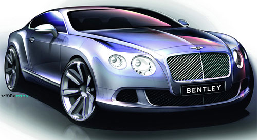 Bentley Continental GT автомобиль