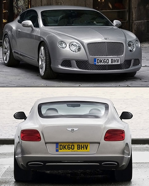 Обзорное фото Bentley Continental GT