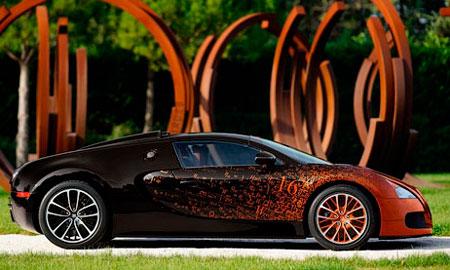 Компания Bugatti разработала «математический» Veyron.