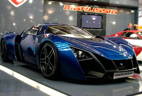 Начались испытания обновленного суперкара Marussia B2.