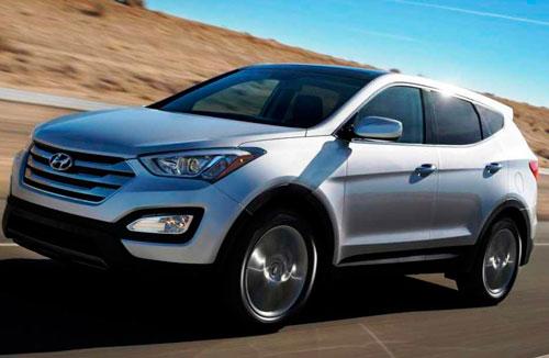 Тест-обзор нового поколения внедорожника Hyundai Santa Fe.