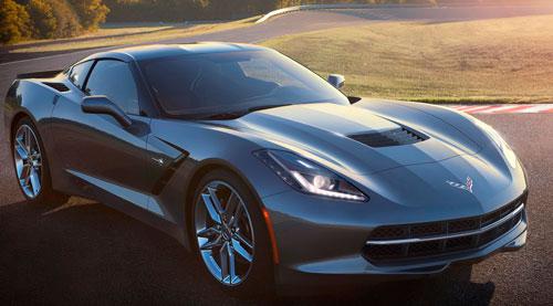 Опубликованы первые изображения нового Chevrolet Corvette.