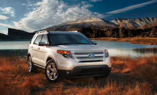 � ������ ����� ����������� Ford Explorer �������� � ������������ Limited