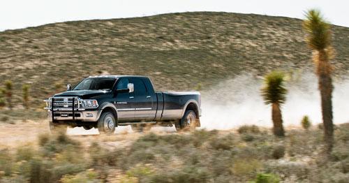 Семиметровый  Dodge Ram