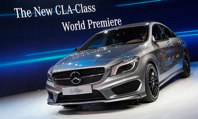 Очередное творение AMG показали в Нью-Йорке - Mercedes CLA 2013