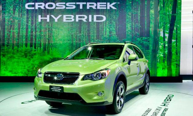 Первая «зелёная» Subaru-Crosstrek Hybrid