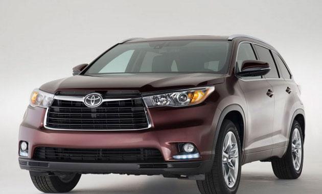 Toyota Highlander  стал восьмиместным