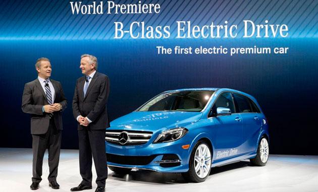 B-Class Electric Drive не нуждается в горючем