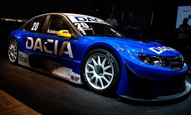 Dacia Logan дебютирует в асфальтных гонках STCC