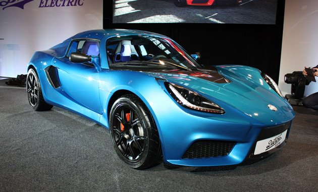Электрический спорткар на основе Lotus: Detroit Electric SP:01