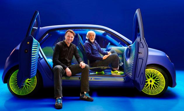 Renault показала свой концепт - Twin'Z