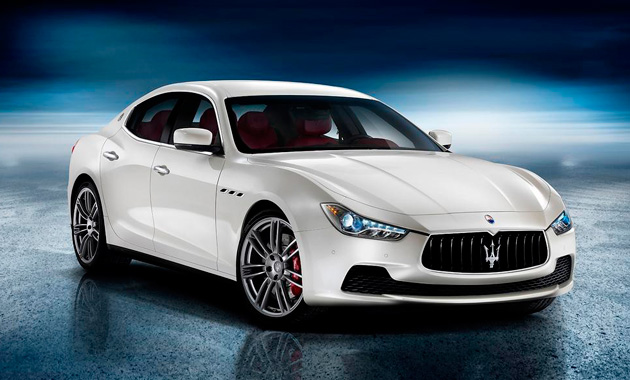 Первой дизельной Maserati будет новая Ghibli