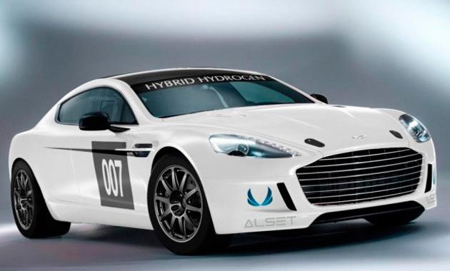 Водородный Aston Martin примет участие в «24-часа Нюрбургринга»