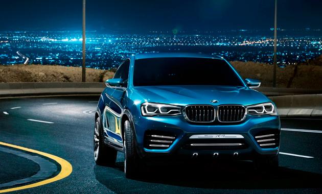 Долгожданный BMW Concept X4
