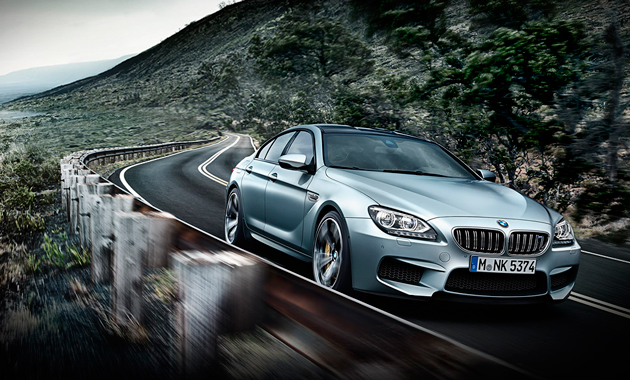 BMW M6 Gran Coupe на трассе