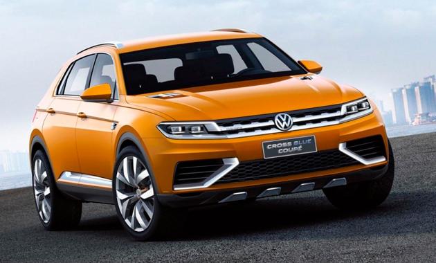 Volkswagen Cross Blue Coupe составит конкуренцию GLA и X4