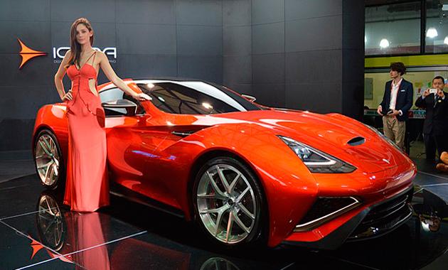 Суперкар Icona с мощность 950 л.с. показали в Шанхае