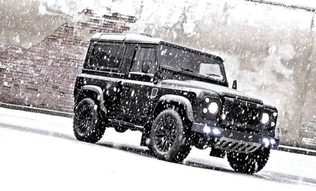 Внедорожник Land Rover Defender Secret Edition