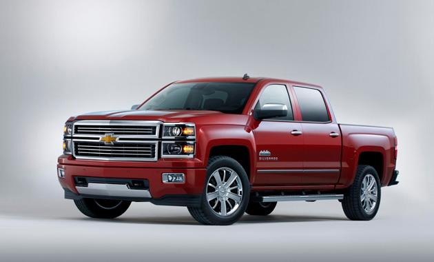 Chevrolet Silverado High Country - роскошный пикап от концерна General Motors