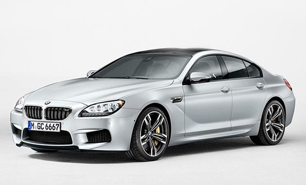 В России стартовали продажи 4-дверной BMW M6