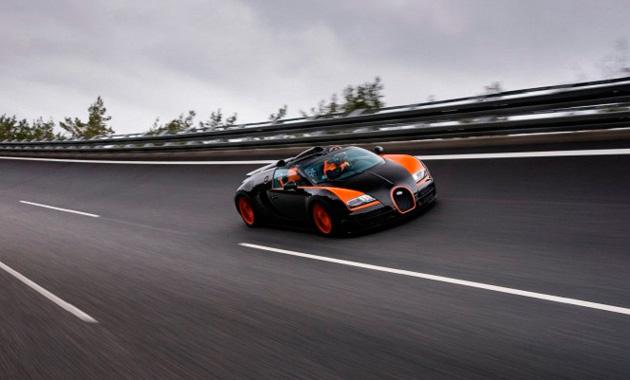Bugatti Veyron получит 1500 лошадей