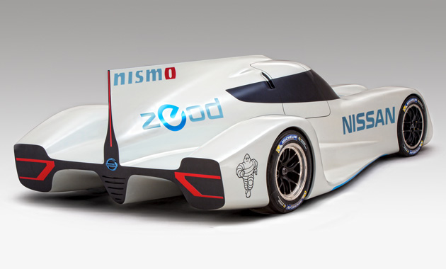 Электрокар Nissan со скоростью 300 км/ч