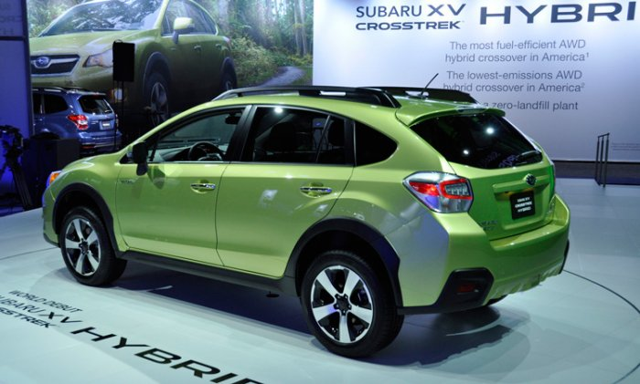 Subaru XV Crosstrek Hybrid уже продается в Японии