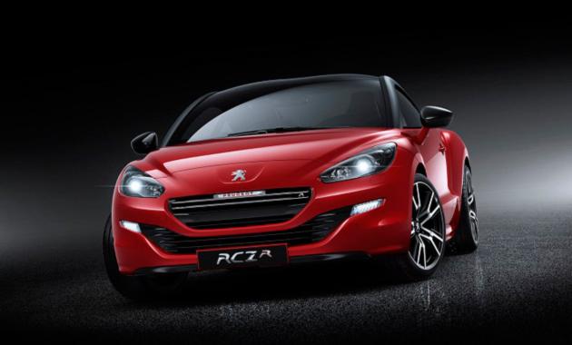 Мощное купе RCZ R от Peugeot
