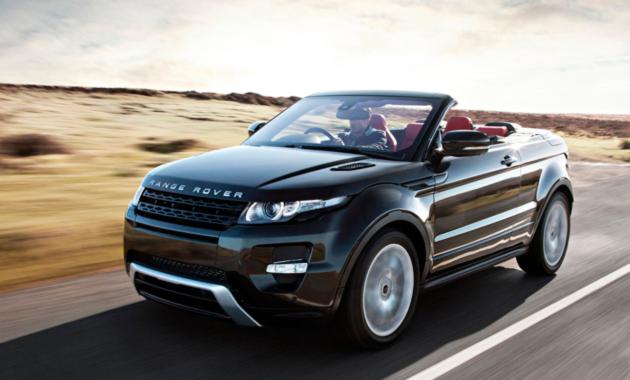Внедорожный кабриолет Range Rover Evoque