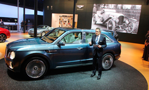 Bentley сделает серийный внедорожник в 2016 году