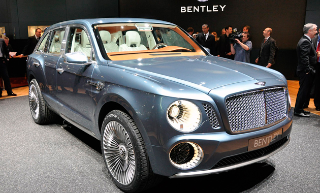 Bentley EXP 9 F цена