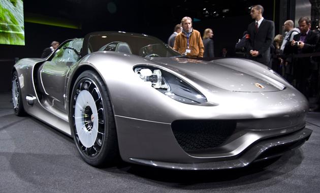Самый высокотехнологичный суперкар от Porsche