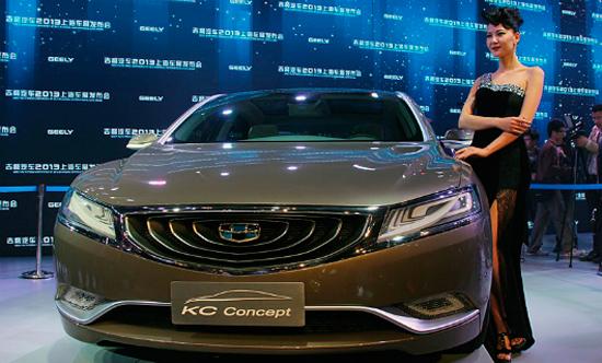 Первая совместная с компанией Volvo модель Geely будет выпущена в 2015-м году