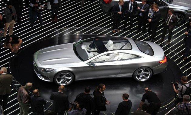 Прототип Mercedes S-Class Coupe представлен на автосалоне во Франкфурте