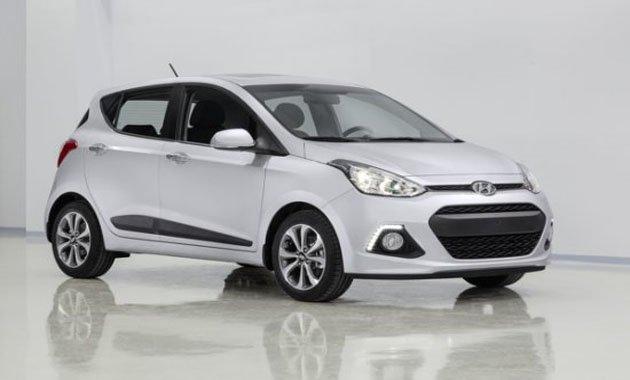 Hyundai представил во Франкфурте модель i10 нового поколения