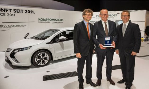 Opel Ampera получил награду eCar Award 2013