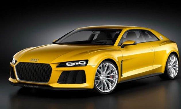 Audi Sport Quattro Concept — автомобиль в честь празднования 30-летия Quatt ...