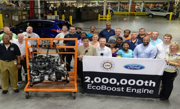Ford произвел 2 миллиона двигателей EcoBoost