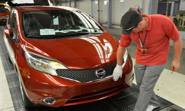Новый Nissan Note: начало производства в Европе