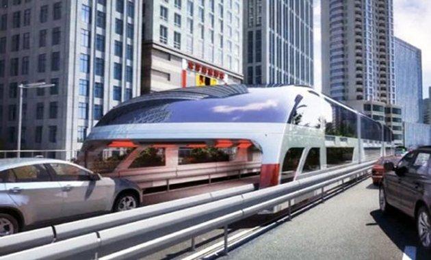 Китайцы представили революционный общественный транспорт